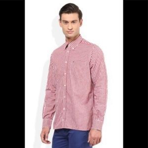 Tommy Hilfiger Red Gingham Shirt